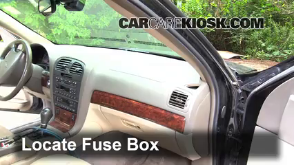 interior fuse box location 2000 2006 lincoln ls 2002 lincoln ls rh carcarekiosk com 2000 lincoln ls fuse box diagram 2001 lincoln ls fuse box location