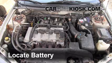 Battery Replacement: 1999 2003 Mazda Protege   2000 Mazda Protege LX 1.6L 4  Cyl.