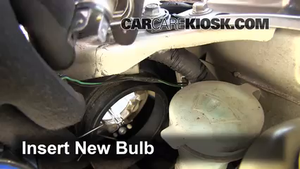 replace bulb procedures to replace the new bulb