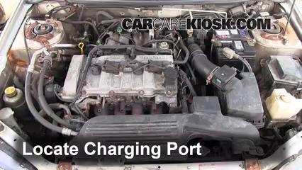 how to add refrigerant to a 1999 2003 mazda protege 2002 mazda rh carcarekiosk com Mazda 6 Mazda 323