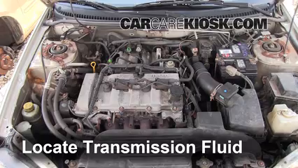 2002 Mazda Protege ES 2.0L 4 Cyl. Transmission Fluid Fix Leaks