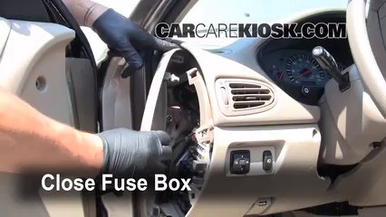 Interior Fuse Box Location: 1999-2003 Mitsubishi Galant ... on