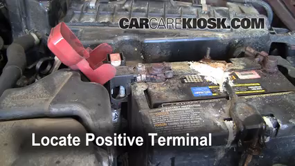 nissan maxima battery terminal replacement