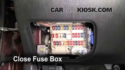 2002 Nissan Maxima GLE 3.5L V6%2FFuse Interior Part 2 interior fuse box location 2000 2003 nissan maxima 2002 nissan 2000 maxima fuse box diagram at bakdesigns.co
