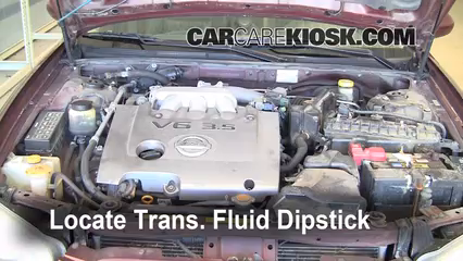 2002 Nissan Maxima GLE 3.5L V6 Fluid Leaks Transmission Fluid (fix leaks)