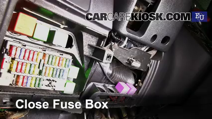 interior fuse box location: 1993-2002 peugeot 306 - 2002 peugeot 306  meridian 1 8l 4 cyl