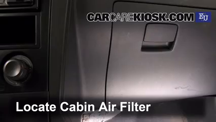 Cabin Filter Replacement: SEAT Ibiza 2002-2008 - 2002 SEAT