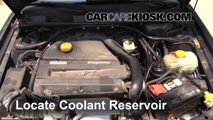 How to Add Coolant     Saab       9   3     1999   2003   2002    Saab       9   3
