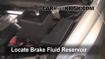 2002 Toyota Highlander Limited 3.0L V6 Brake Fluid