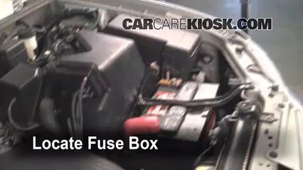 2002 toyota highlander limited 3 0l v6 fuse (engine) check