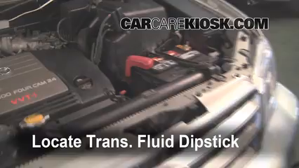 2002 Toyota Highlander Limited 3.0L V6 Transmission Fluid
