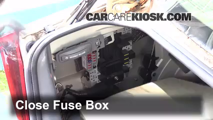 interior fuse box location: 1999-2006 volvo s80 - 2002 volvo s80 2 9 2 9l 6  cyl