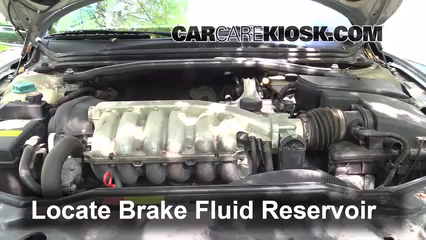 2002 Volvo S80 2.9 2.9L 6 Cyl. Brake Fluid Check Fluid Level