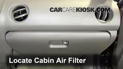 2002 Acura RSX Type-S 2.0L 4 Cyl. Filtre à air (intérieur)