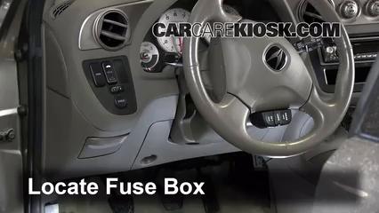 2002 Acura RSX Type-S 2.0L 4 Cyl. Fusible (intérieur)
