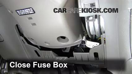 Interior Fuse Box Location: 2002-2006 Acura RSX - 2002 Acura RSX Type-S  2.0L 4 Cyl. | Acura Rsx Under Dash Fuse Box |  | CarCareKiosk