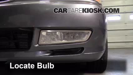2002 Acura TL 3.2L V6 Lights Fog Light (replace bulb)