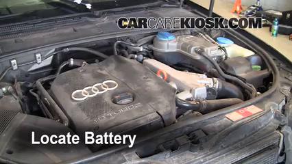 2002 Audi A4 Quattro 1.8L 4 Cyl. Turbo Batterie