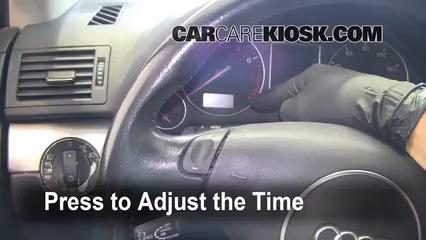 2002 Audi A4 Quattro 1.8L 4 Cyl. Turbo Horloge