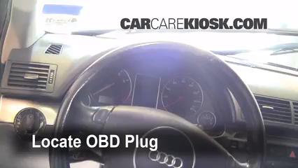 2002 Audi A4 Quattro 1.8L 4 Cyl. Turbo Compruebe la luz del motor Diagnosticar
