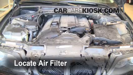 2002 BMW 325i 2.5L 6 Cyl. Sedan Air Filter (Cabin)