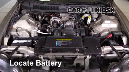 2002 Chevrolet Camaro 3.8L V6 Convertible Batterie