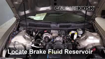 2002 Chevrolet Camaro 3.8L V6 Convertible Liquide de frein