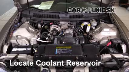 2002 Chevrolet Camaro 3.8L V6 Convertible Mangueras Sellar pérdidas