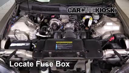 2002 Chevrolet Camaro 3.8L V6 Convertible Fusible (moteur)