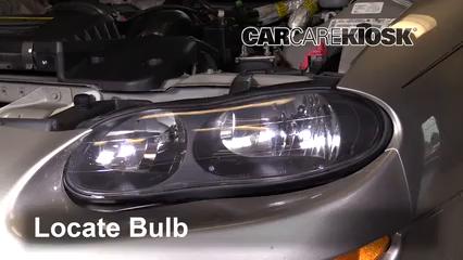 2002 Chevrolet Camaro 3.8L V6 Convertible Luces Luz de carretera (reemplazar foco)