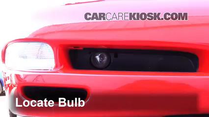 2002 Chevrolet Corvette 5.7L V8 Convertible Luces Luz de niebla (reemplazar foco)