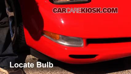 2002 Chevrolet Corvette 5.7L V8 Convertible Luces Luz de estacionamiento (reemplazar foco)