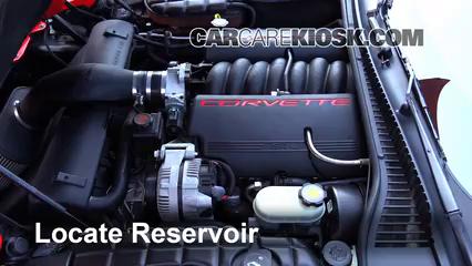 2002 Chevrolet Corvette 5.7L V8 Convertible Liquide essuie-glace