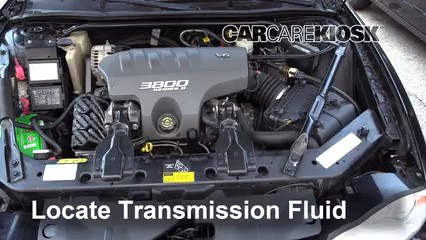 2002 Chevrolet Monte Carlo SS 35th Anniversary Edition 3.8L V6 Transmission Fluid