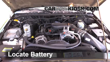 1999 Chevrolet Blazer LS 4.3L V6 (4 Door) Batterie