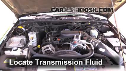 1999 Chevrolet Blazer LS 4.3L V6 (4 Door) Liquide de transmission