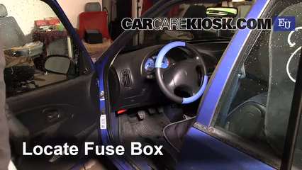 Interior Fuse Box Location: 1996-2003 Citroen Saxo - 2002 Citroen Saxo  Chrono 1.1L 4 Cyl. | Citroen Saxo 2001 Fuse Box |  | CarCareKiosk