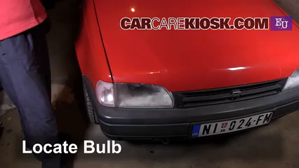 2002 Dacia SupeRNova MPI 1.4L 4 Cyl. Luces Luz de estacionamiento (reemplazar foco)