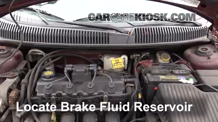 2002 Dodge Neon SE 2.0L 4 Cyl. Brake Fluid