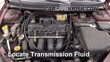 2002 Dodge Neon SE 2.0L 4 Cyl. Transmission Fluid