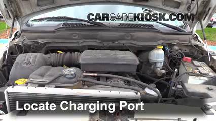 2002 Dodge Ram 1500 4.7L V8 Crew Cab Pickup (4 Door) Climatisation
