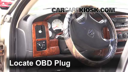 2002 Dodge Ram 1500 4.7L V8 Crew Cab Pickup (4 Door) Compruebe la luz del motor