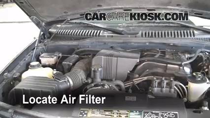 2002 Ford Explorer XLT 4.0L V6 Filtre à air (moteur)