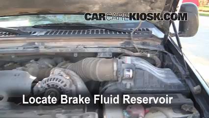 2002 Ford F-250 Super Duty Lariat 7.3L V8 Turbo Diesel Extended Cab Pickup (4 Door) Brake Fluid