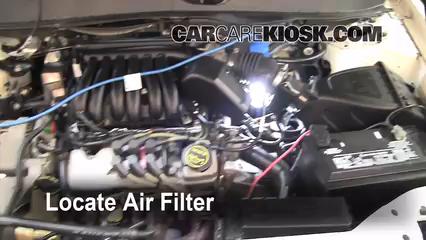 2002 Ford Taurus SE 2-Valve 3.0L V6 Air Filter (Engine)