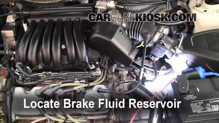 2002 Ford Taurus SE 2-Valve 3.0L V6 Brake Fluid
