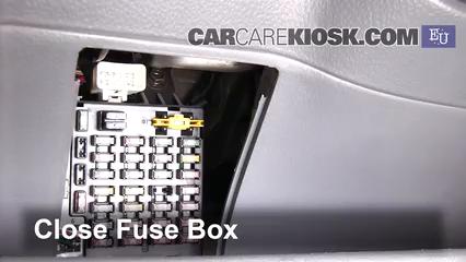 Interior Fuse Box Location: 2002-2009 Hyundai Getz - 2002 Hyundai Getz GL  1.1L 4 Cyl. | Hyundai Amica Fuse Box |  | CarCareKiosk