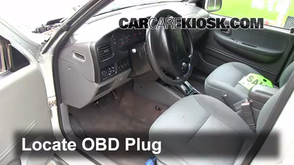 2002 Kia Sportage 2.0L 4 Cyl. Sport Utility (4 Door) Check Engine Light