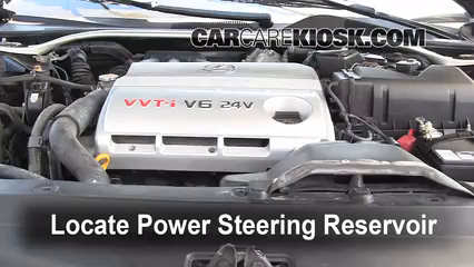2002 Lexus ES300 3.0L V6 Power Steering Fluid