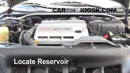 2002 Lexus ES300 3.0L V6 Windshield Washer Fluid